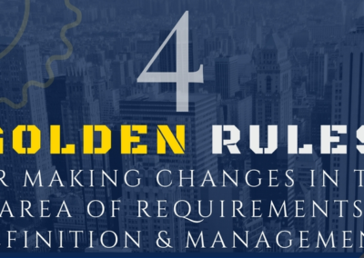 Infographic: Four Golden Rules for Making Change