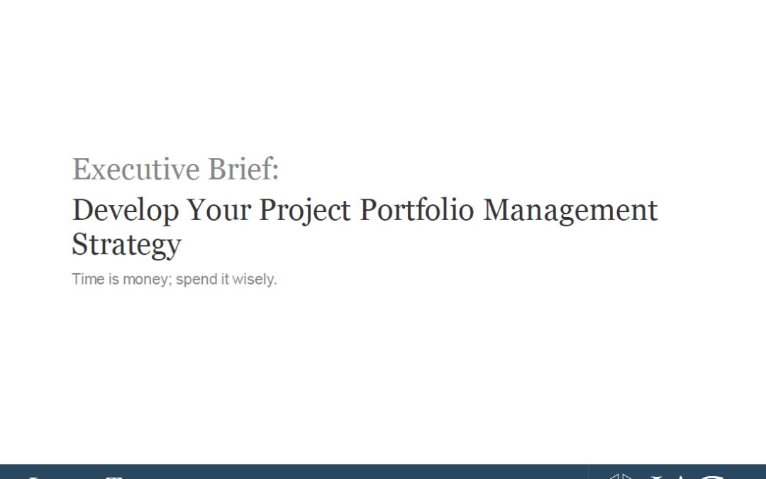 Slideshow: Develop Your Project Portfolio Management Strategy