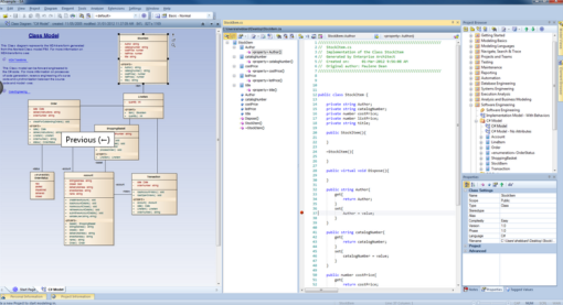 Enterprise Architect Corporate Edition: Code Engineering