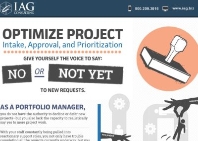 Infographic: Optimizing Project Intake, Approval, and Prioritization