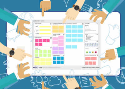 Template: User Story Discovery Canvas Templates