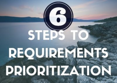 Infographic: 6 Steps to Prioritizing Your Business Requirements